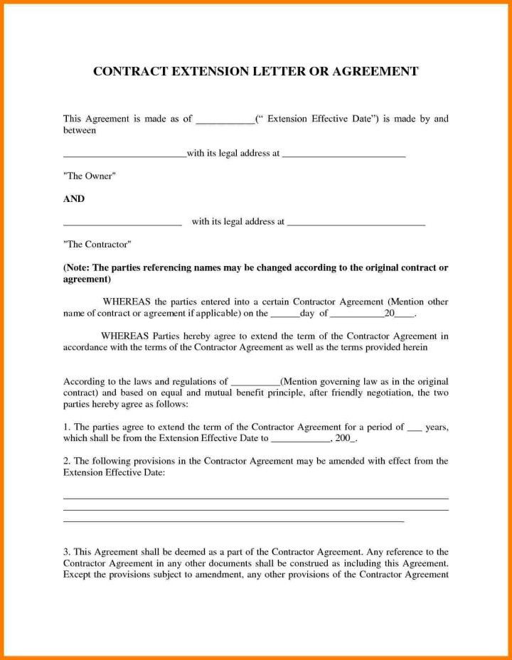 Agreement Letter Between Two Parties Pdf | Docoments Ojazlink