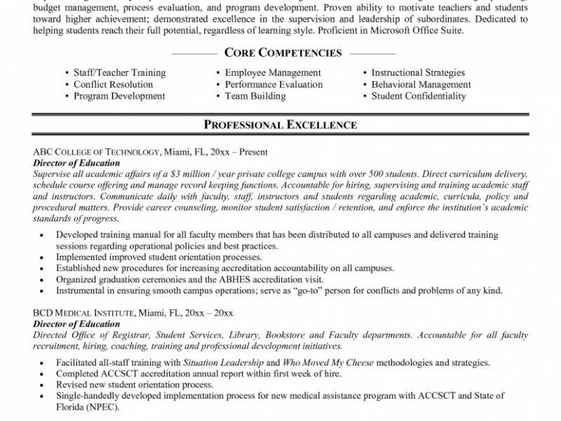 Impressive Design Ideas Higher Education Cover Letter 16 Resume ...