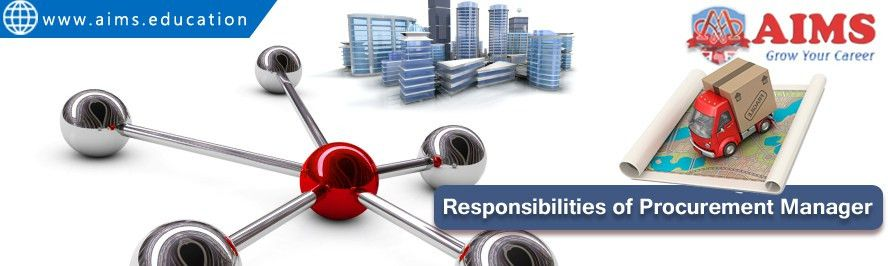 10 Key Purchasing / Procurement Manager Responsibilities | AIMS Blog