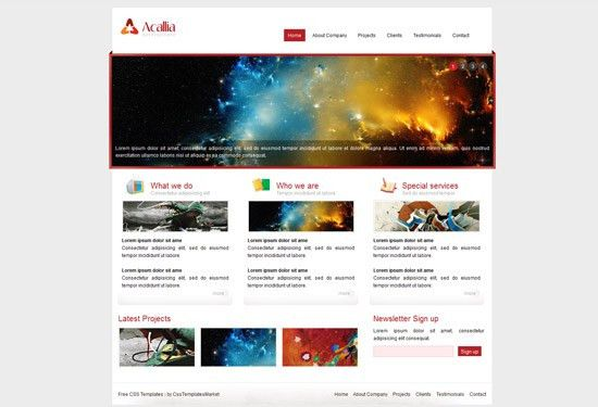 Free HTML5 and CSS3 Templates -4