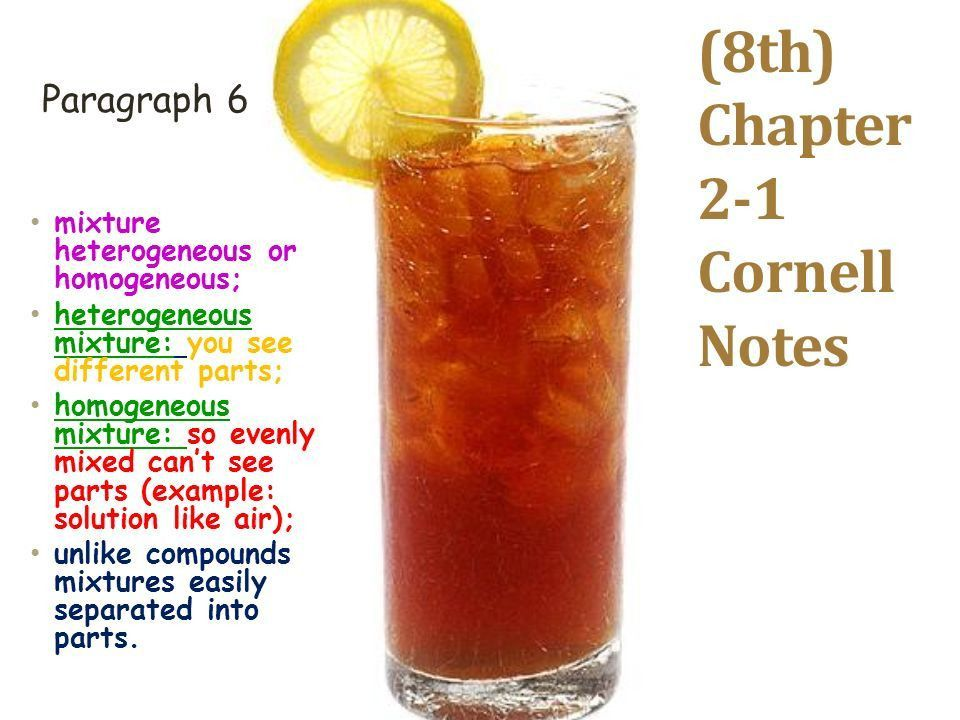 8th) Chapter 2-1 Cornell Notes - ppt download