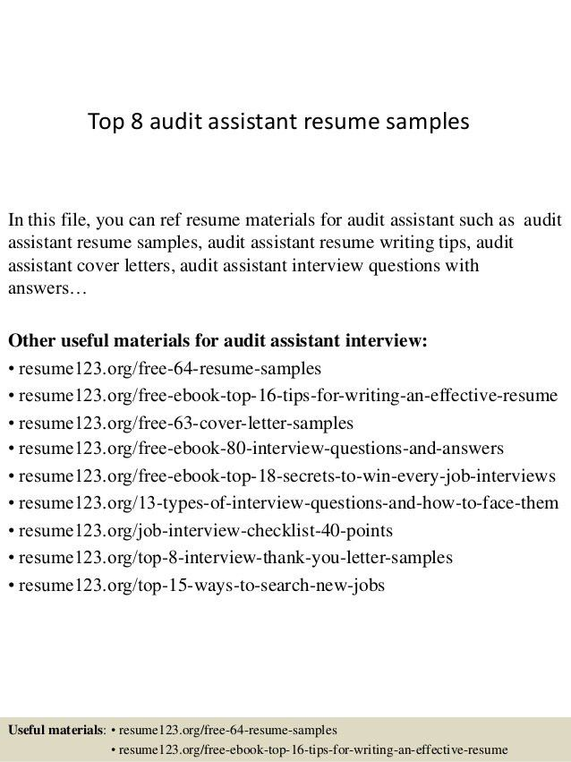 Assistant Auditor Cover Letter] Unusual Audit Cover Letter 10 .