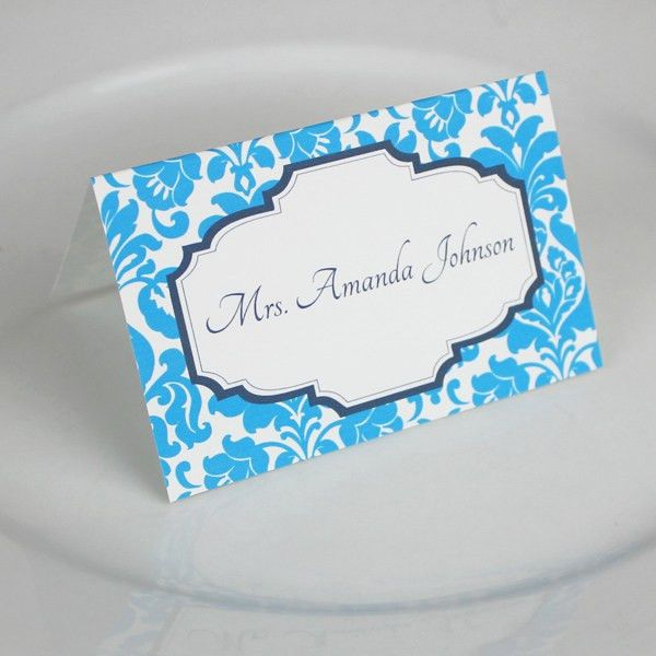 Place Cards | Download & Print