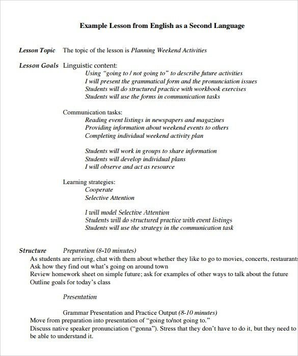 Siop lesson plan template free word pdf documents download – Madeline Hunter Lesson Plan Template
