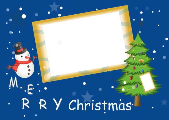 Free Christmas Photo Card Templates - 100% Customizable