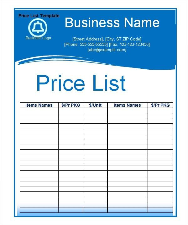 Contact List Template. Reference Contact List Template Excel ...