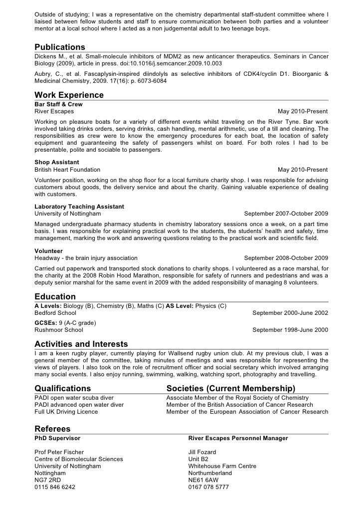 chemistry resume examples analytical chemist resume example