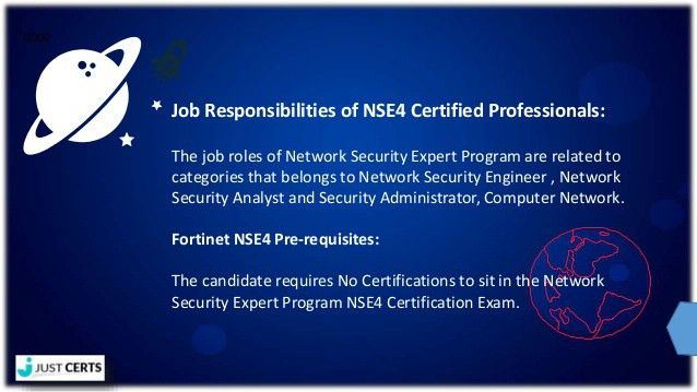 Fortinet NSE4 4 Network Security Expert Program PDF Exam Questions