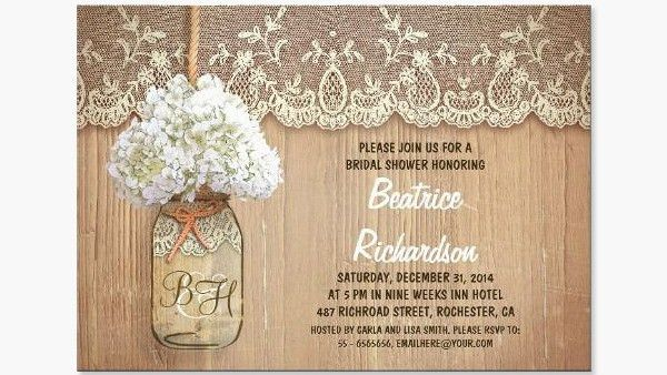 Rustic Wedding Invitation Templates | Lake Side Corrals