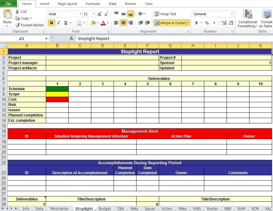 Get Project Work Plan Template In Xls - Excel Tmp