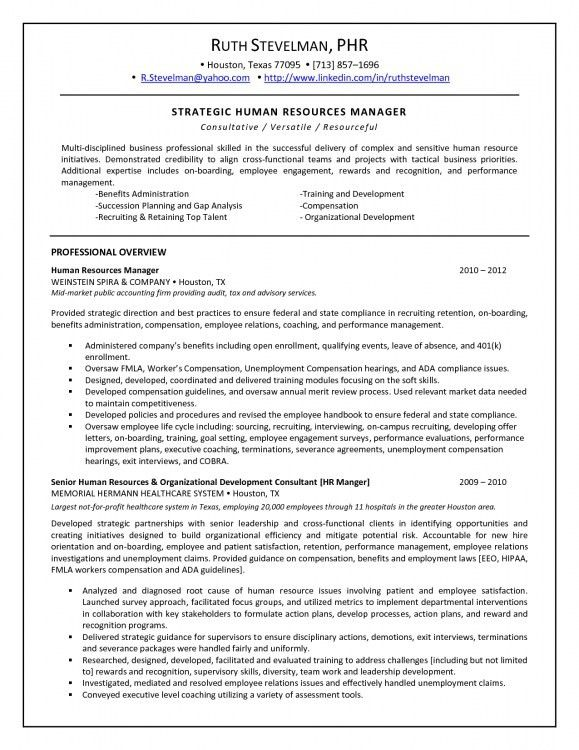 Executive compensation analyst resume
