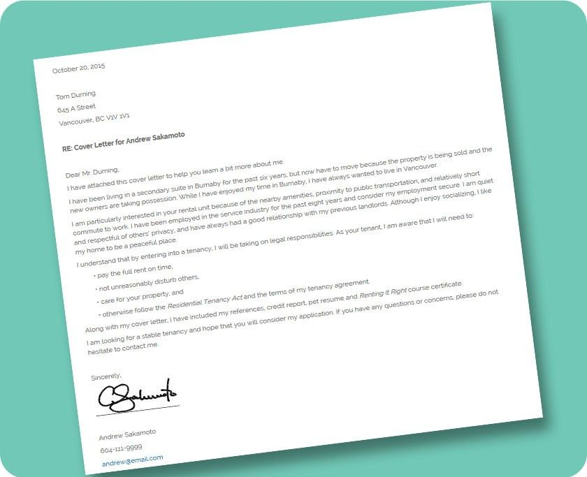 3.8 ACTIVITY: Cover Letter Template | Renting It Right