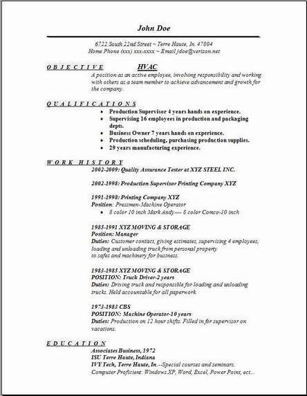 Download Hvac Technician Resume | haadyaooverbayresort.com