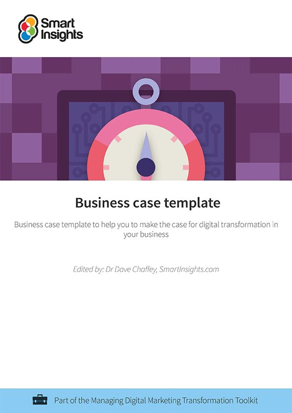 Business case template | Smart Insights