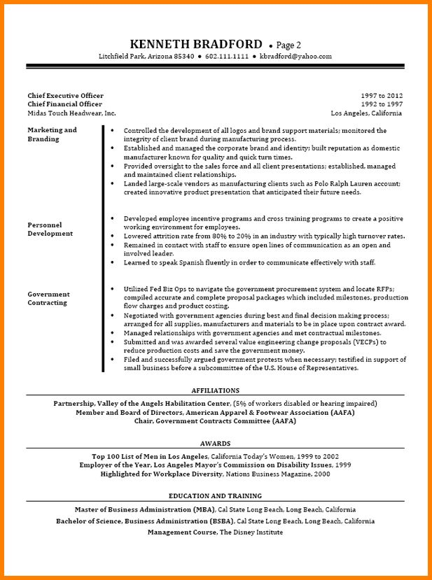10+ cfo resume | resume reference