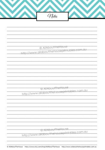 note paper | AllAboutTheHouse Printables