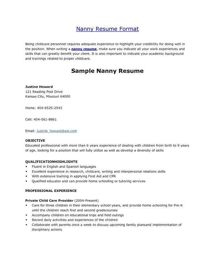 22 best resume images on Pinterest | Cover letter sample, Resume ...