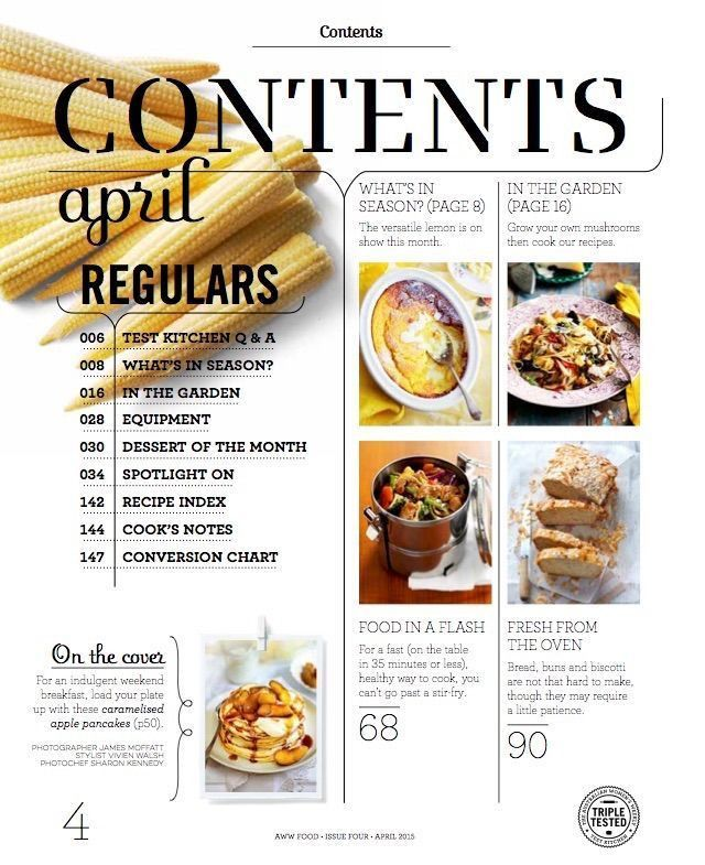 Best 25+ Food magazine layout ideas on Pinterest | Magazine ...