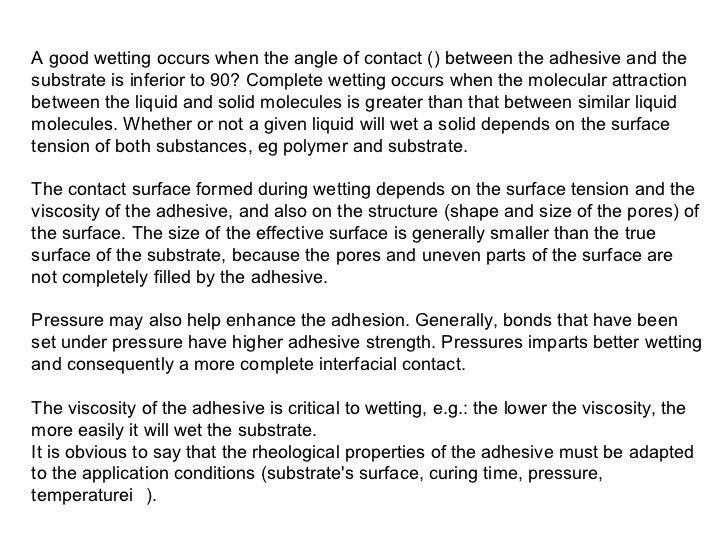 05.adhesion and adhesives theory