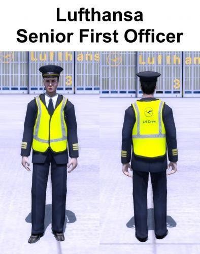 Prepar3D V3 Avatars - Lufthansa Pilot, First Officer & Senior ...