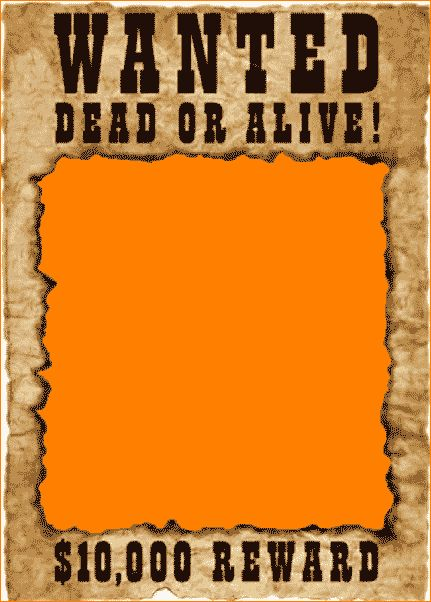 7+ free wanted poster template | Outline Templates