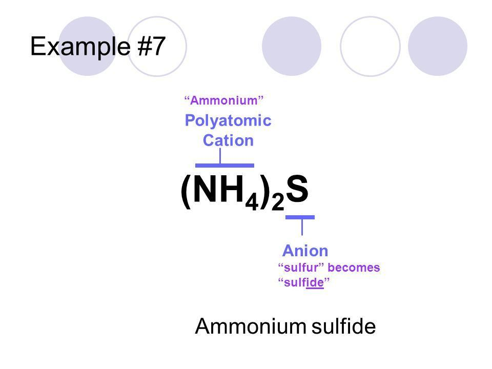 Section 2.2—Naming Chemicals - ppt video online download