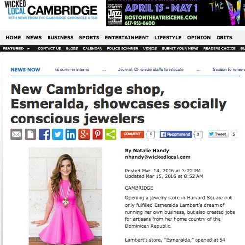 Press for Esmeralda Store & Esmeralda Lambert - Esmeralda ...