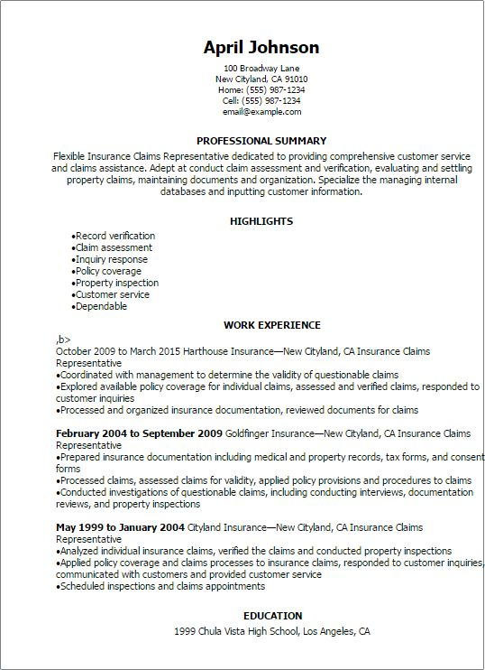 Independent Insurance Adjuster Cover Letter