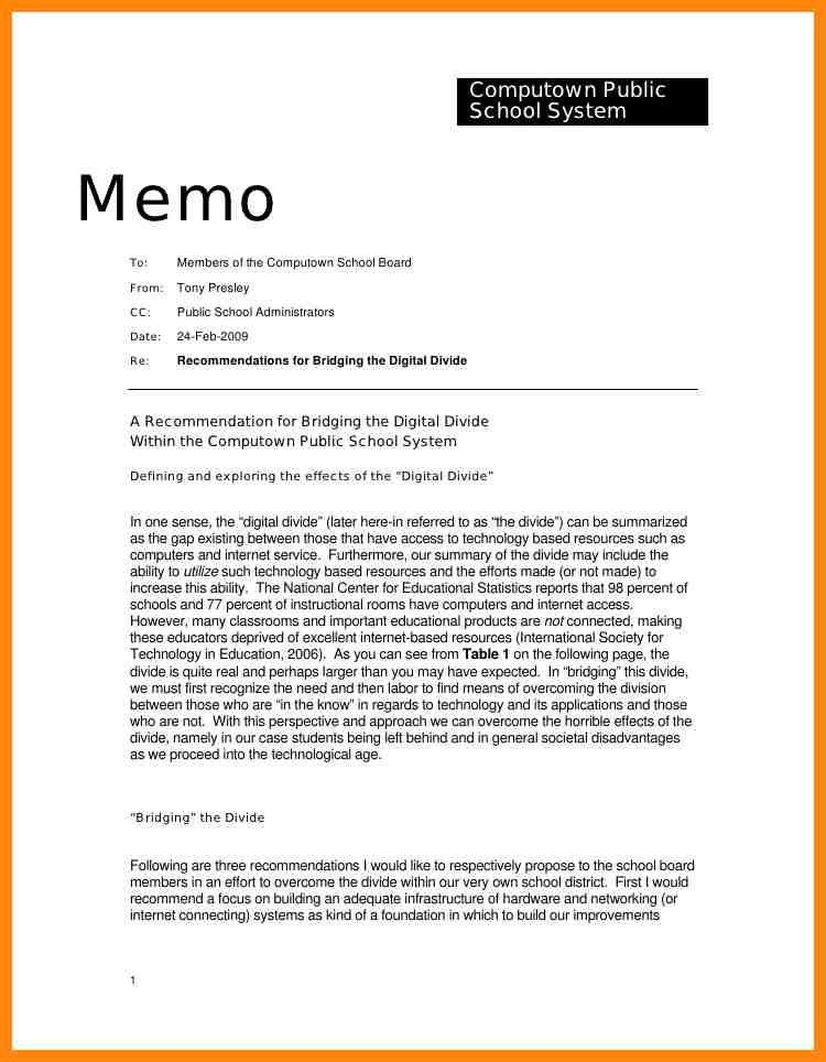 6+ memo examples to students | nurse resumed