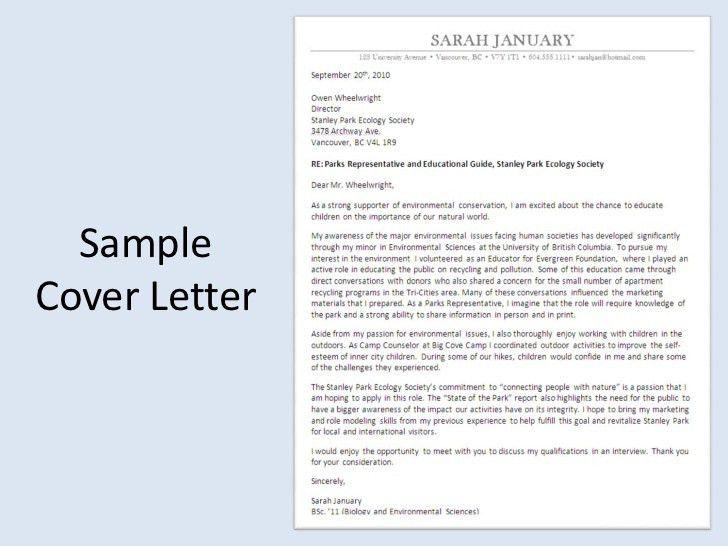 Resume Cover Letter Ubc | Curriculum Vitae Sample Engineer