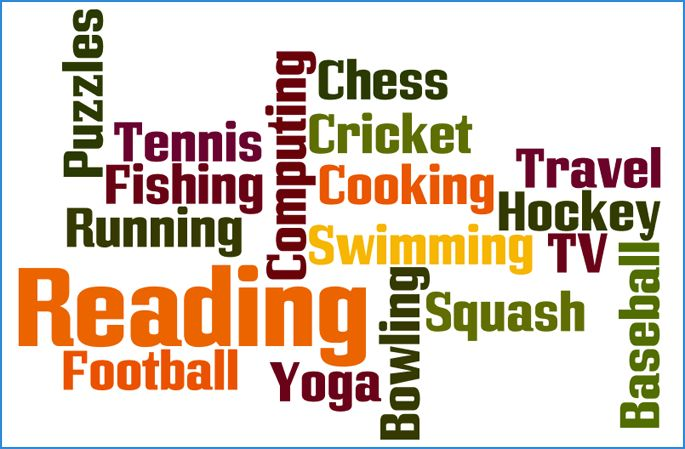 CV Hobbies and Interests - CV Plaza