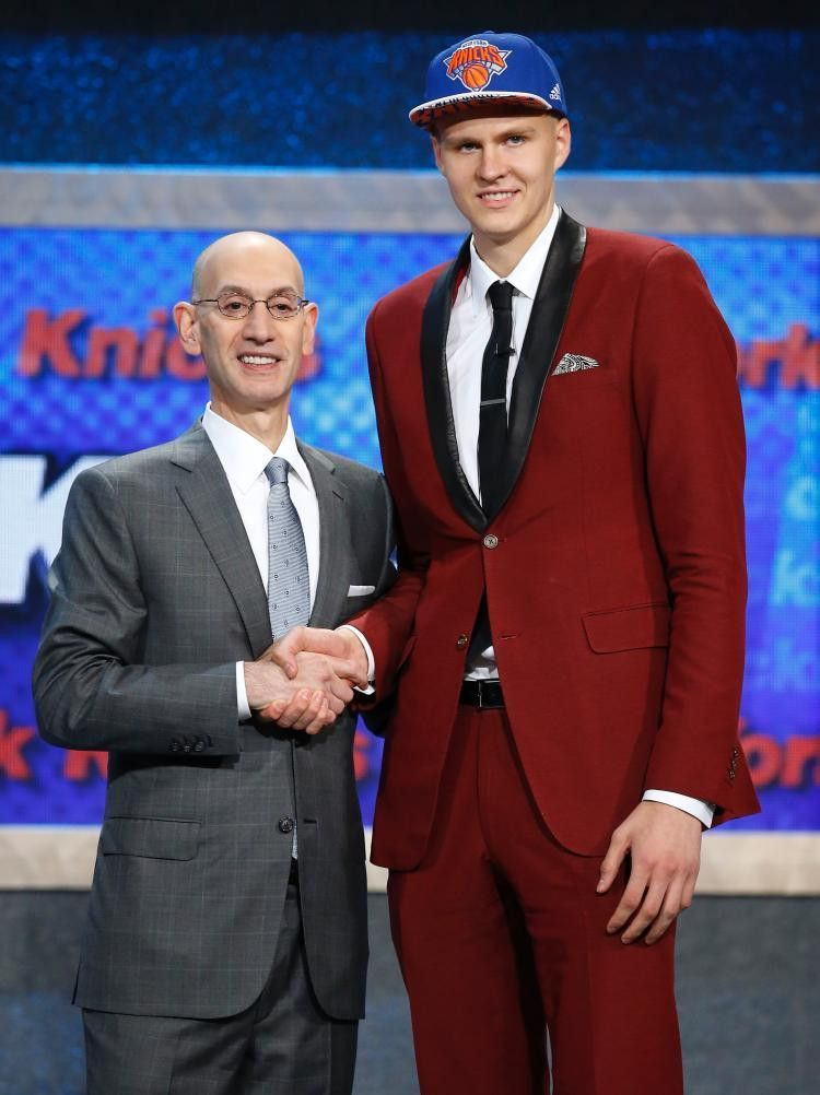 Knicks select Kristaps Porzingis as 4th pick in NBA Draft - NY ...