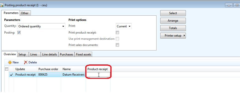 Dynamics AX 2012: Vendor Document Validation (Product receipt, and ...