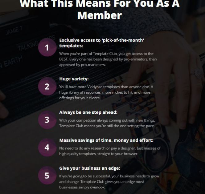 Viddyoze 2.0 Template Club The Exclusive Templates Membership By ...