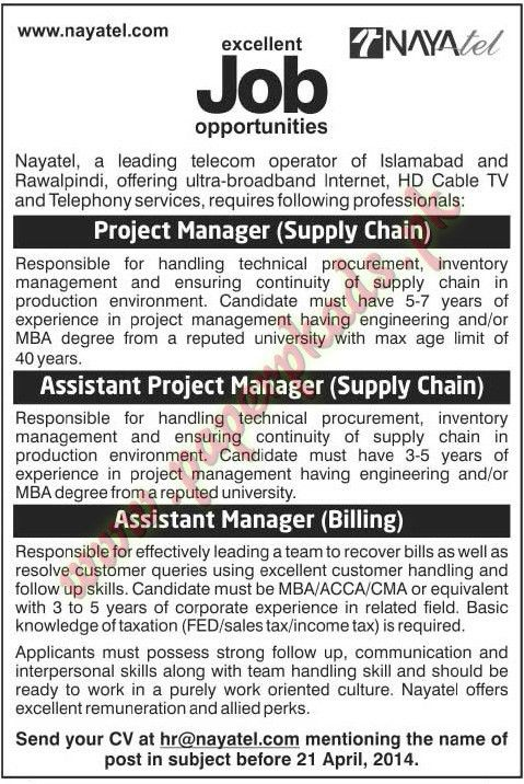 Project Manager, Assistant Project Manager, Assistant Manager Jobs ...