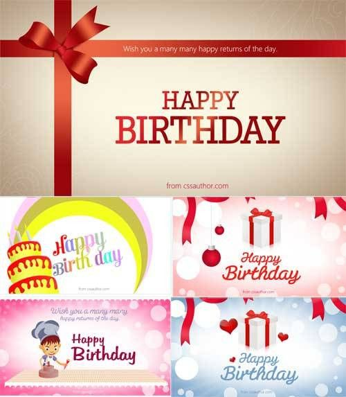 Birthday Card Template Psd - Winclab.info
