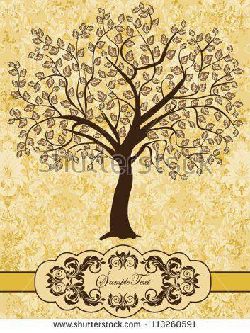 Family Reunion Invitation Card Stock Vector 113260591 - Shutterstock