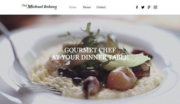 Catering & Chef Website Templates | Restaurants & Food | Wix