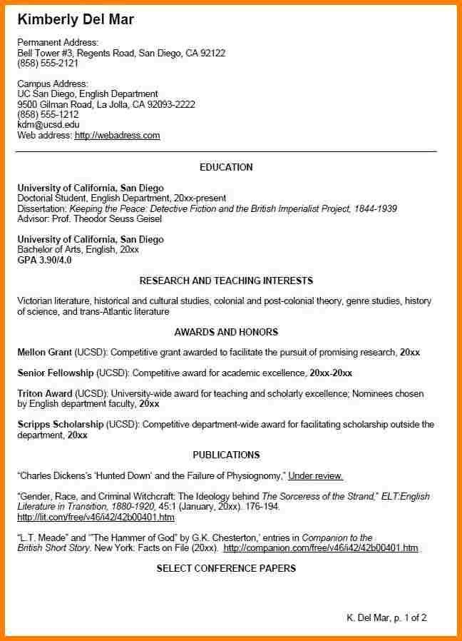 7+ undergraduate cv template | inventory count sheet