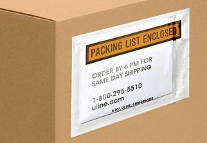 Packing List Envelopes, Packing Slip Envelopes in Stock - ULINE