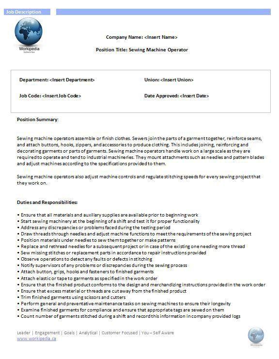 A-Z Job Descriptions – Workipedia