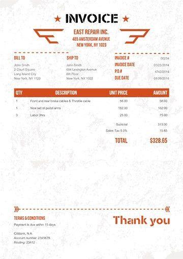 Invoice Creator Free | Samples.csat.co