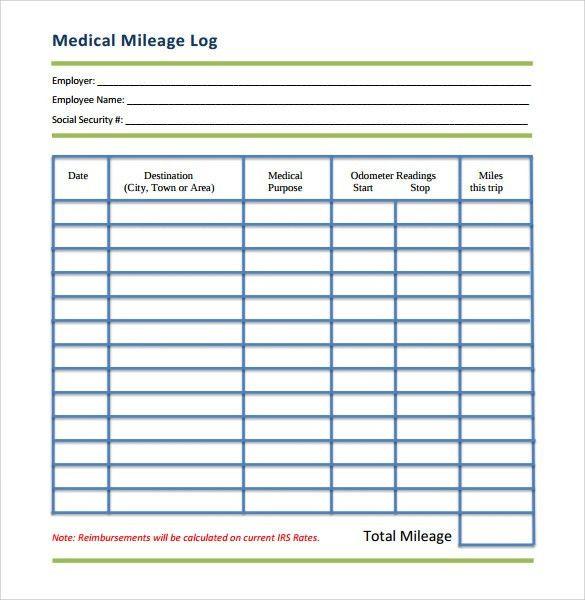 Printable Log Sheet Template. Free Work Attendance Sheet Template ...