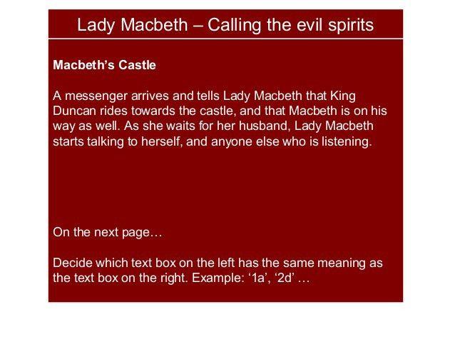 Lady Macbeth Soliloquy Part 1