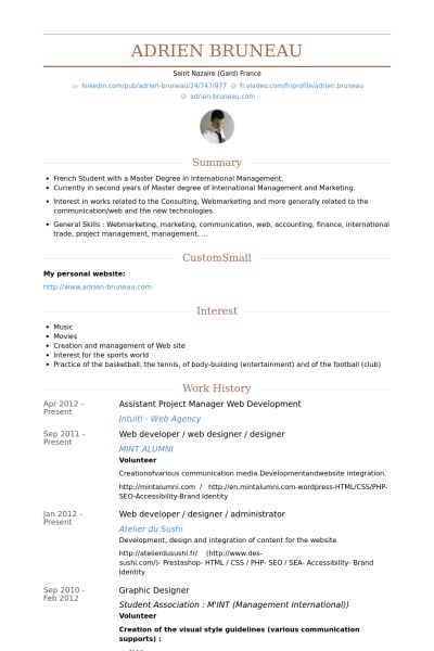 Assistant Project Manager Resume samples - VisualCV resume samples ...