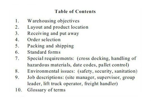 MultiBrief: Why and how to prepare a warehouse operations manual