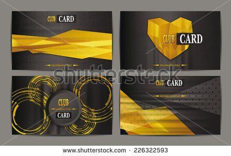 Vip Business Membership Card Stock Vectors, Images & Vector Art ...