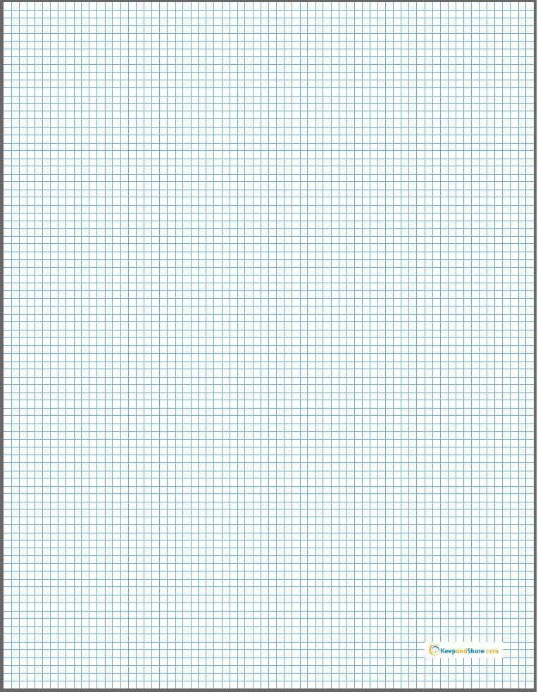 Godwin's Blog - Free graph paper blank