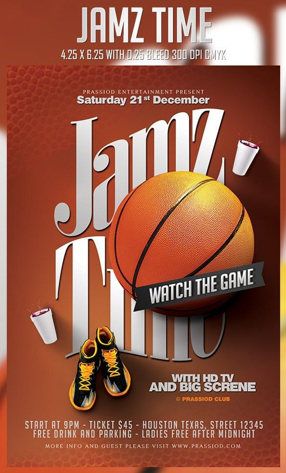 25+ Basketball Flyers - Free PSD, AI, Vector EPS Format Download ...