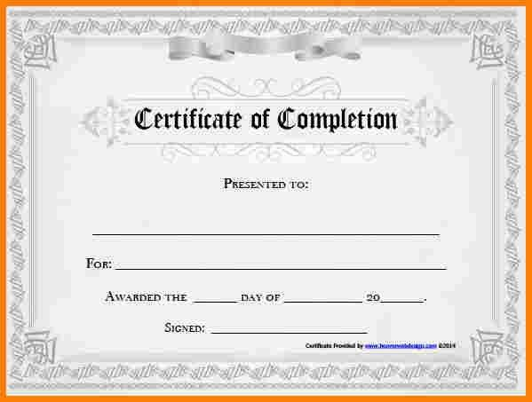 Free Achievement Certificates [Template.billybullock.us ]